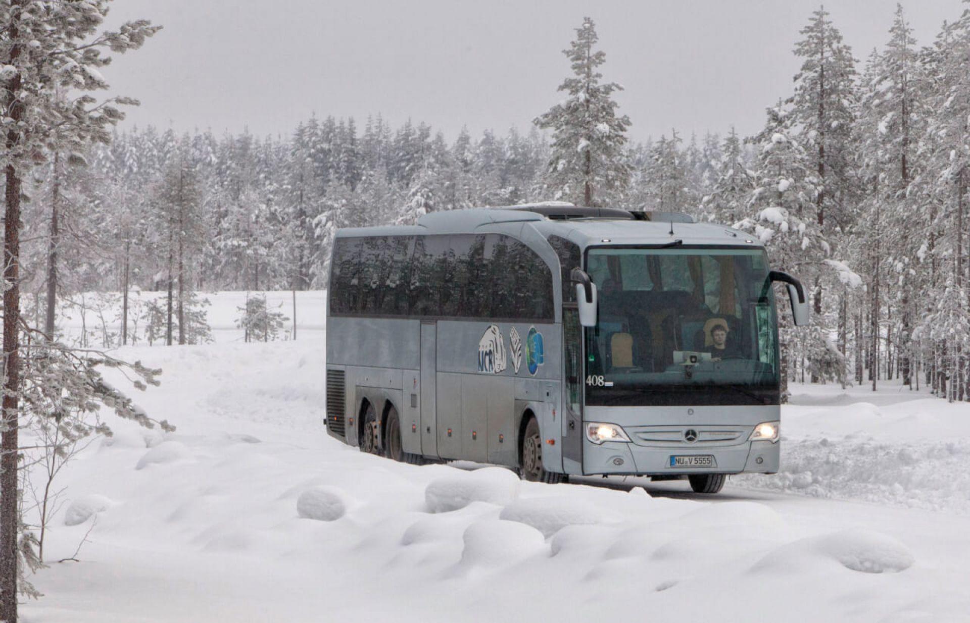 прямые автобус зимой картинка слизистой носа