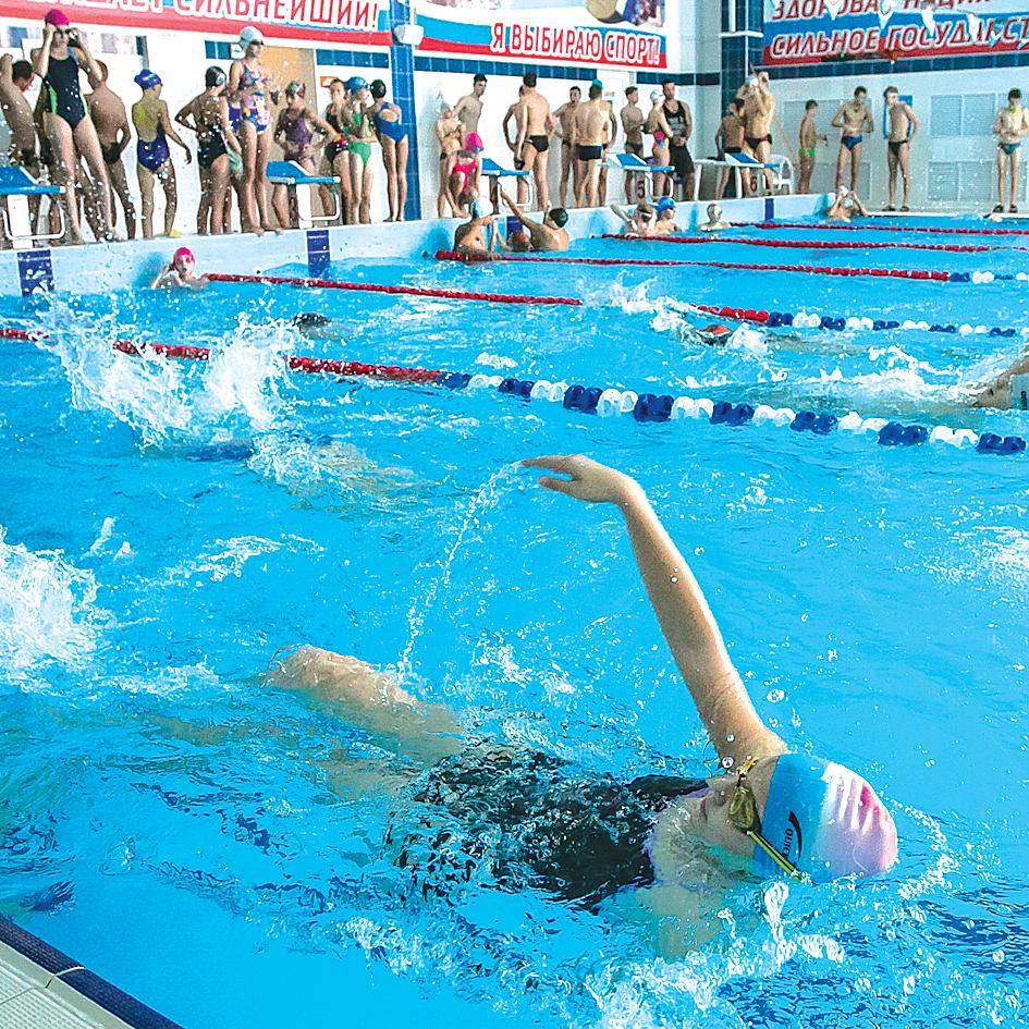 Новосибирская спортсменка стала чемпионкой России по плаванию.
