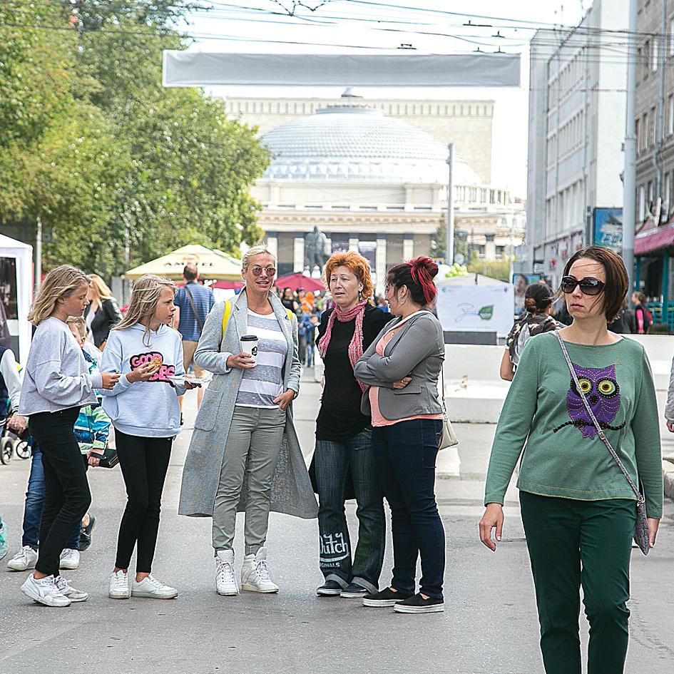 Погуляем: улицу Ленина закроют на два месяца.