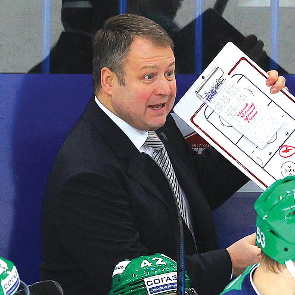 В хоккейной «Сибири» сменился главный тренер.