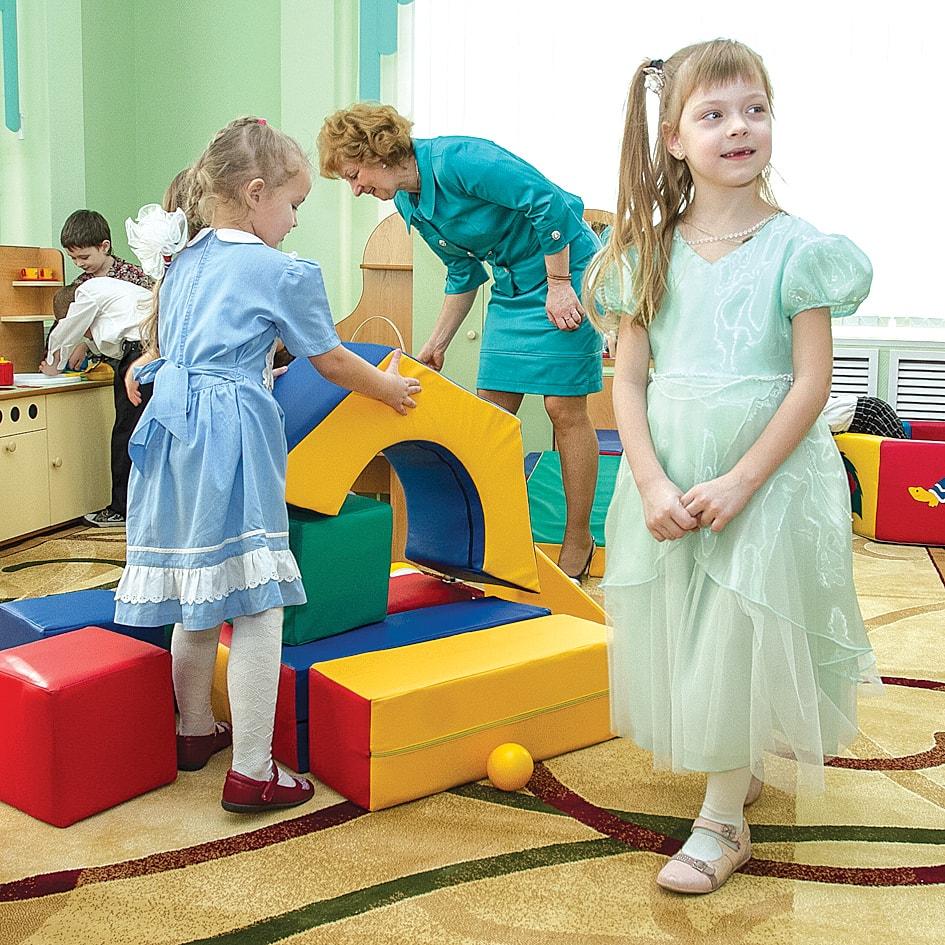 В городе открылся новый детский сад.