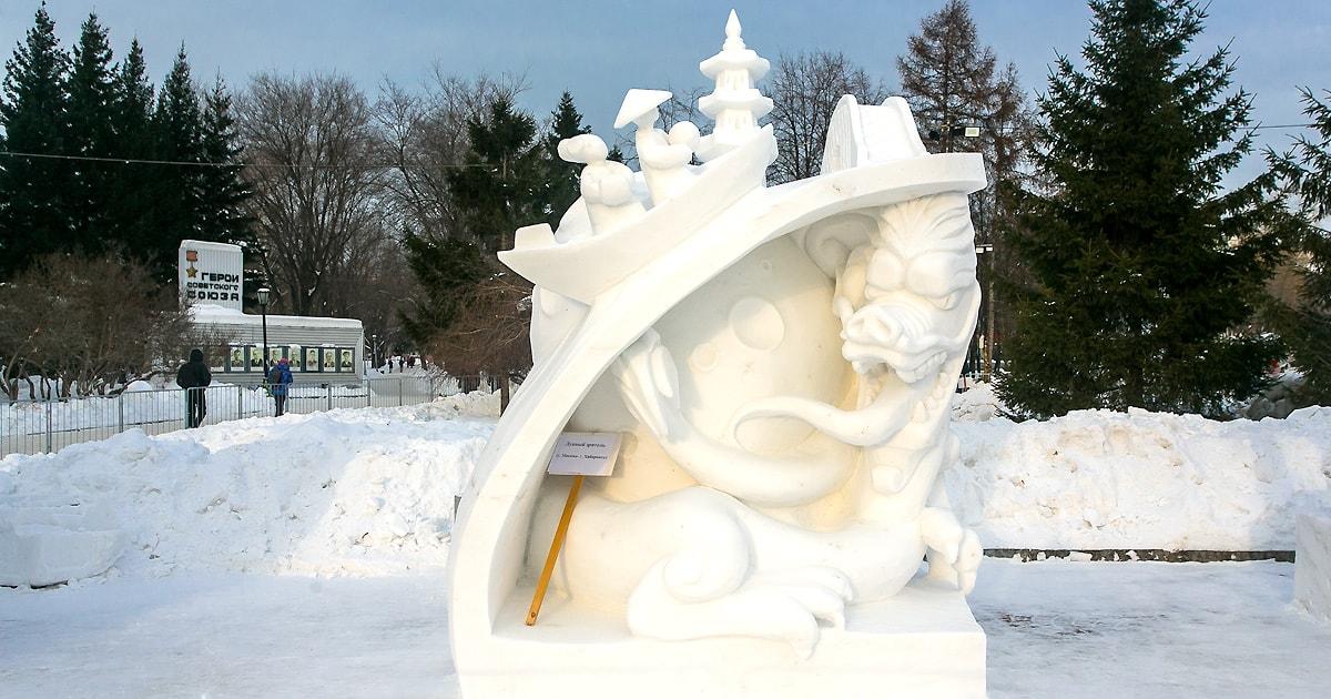 В главной роли — Снег