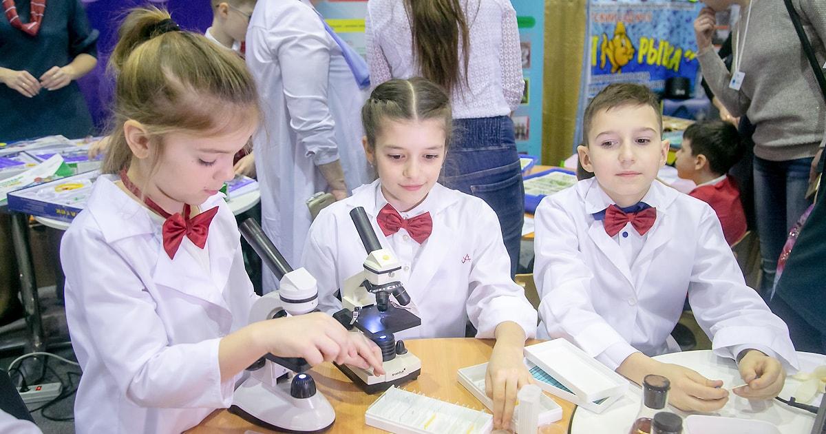 Образование под микроскопом