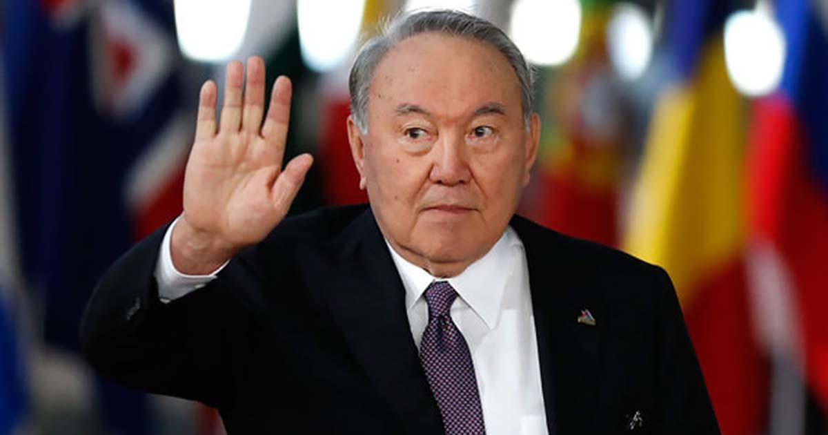 Первый и единственный президент Казахстана ушёл в отставку