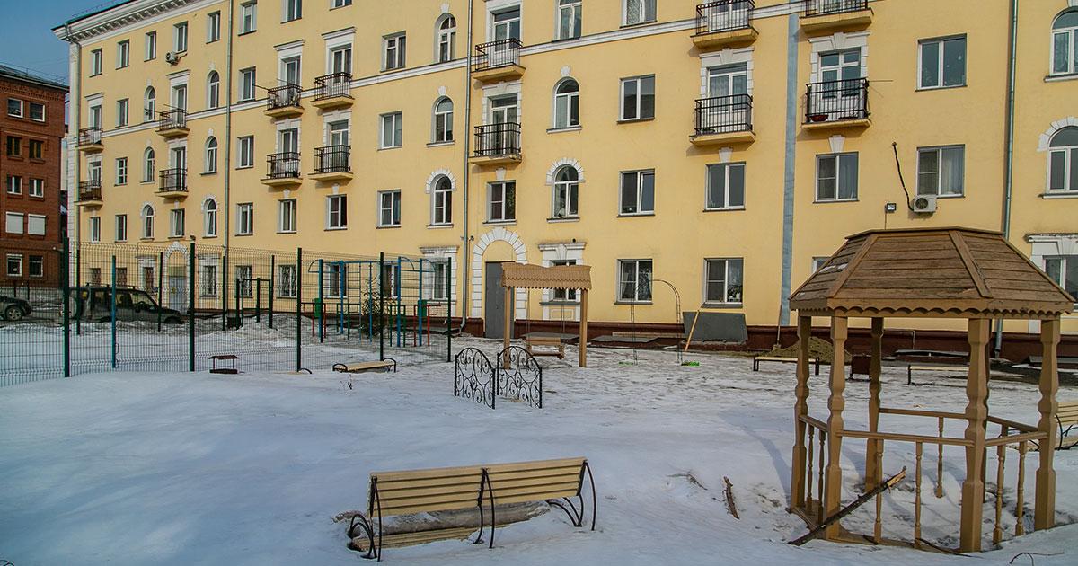 Ещё больше дворов отремонтируют в этом году в Новосибирске