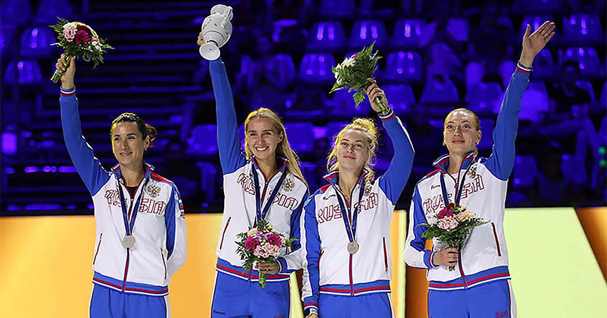 Новосибирская шпажистка стала серебряным призёром чемпионата мира