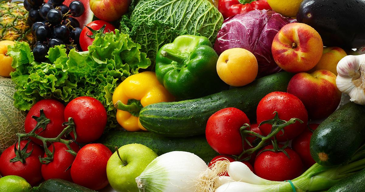 ТОП-10 овощей, фруктов и ягод для здоровья