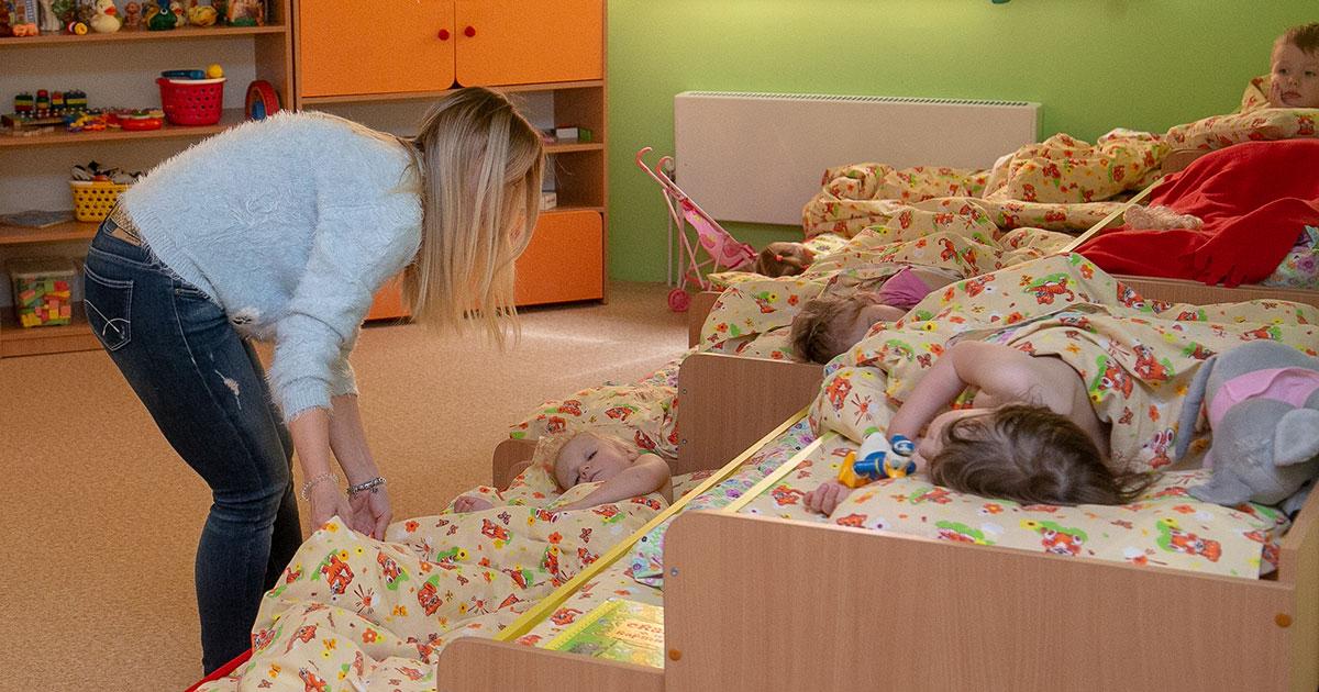 На создание одного места для ребёнка частные детсады могут получить грант на 100 тысяч рублей
