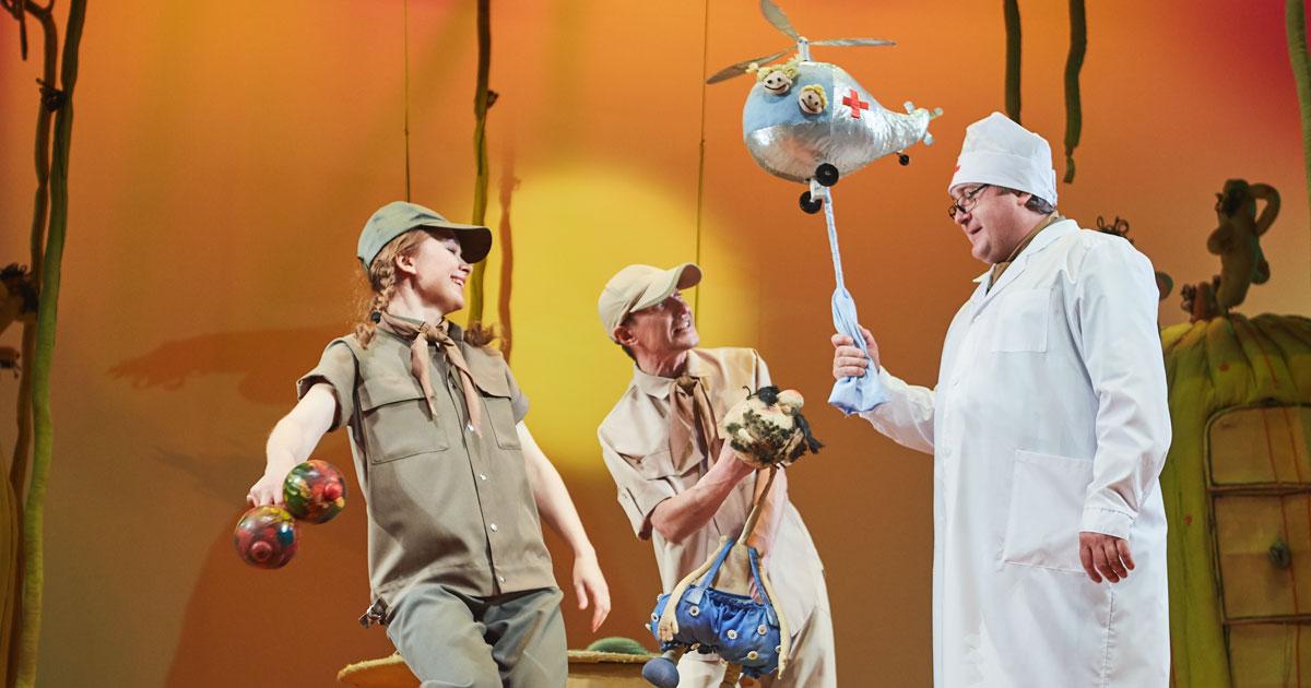 Серию гастролей открывает Новосибирский областной театр кукол