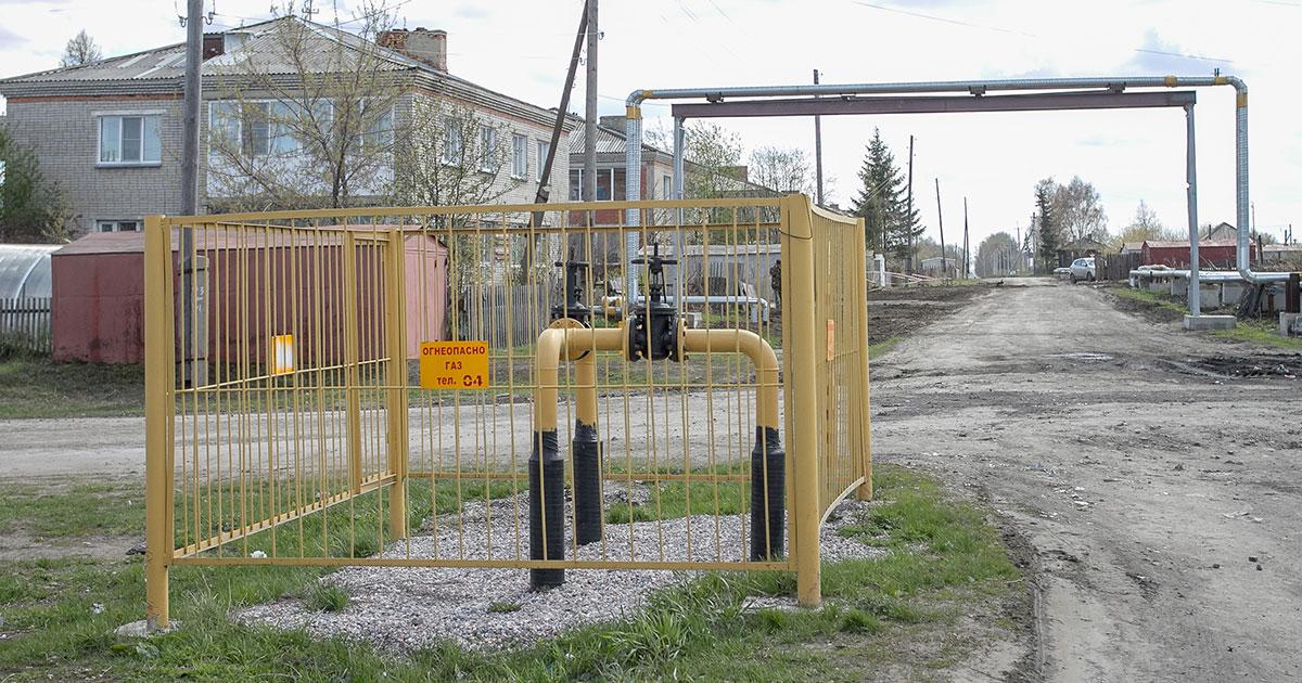 Почти 4,5 тысячи домов газифицировано в Новосибирской области с начала 2019 года