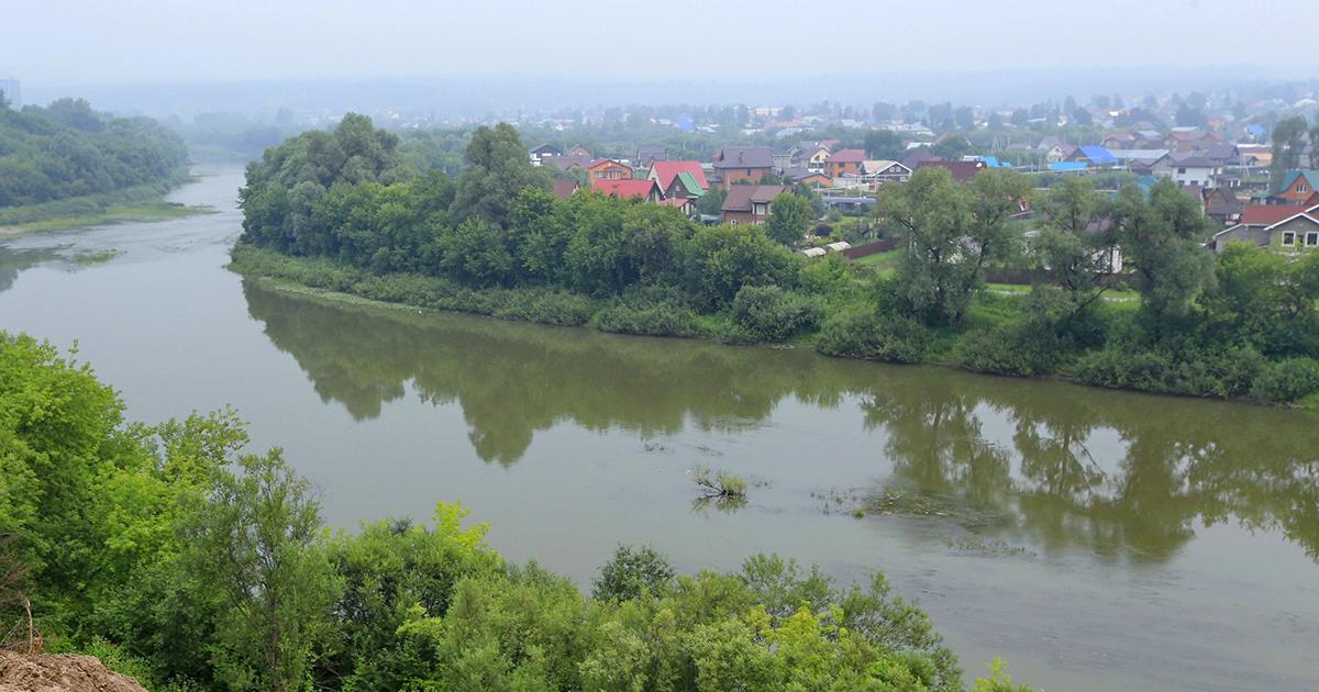В Новосибирске открылась новая смотровая площадка с видом на реку Иню