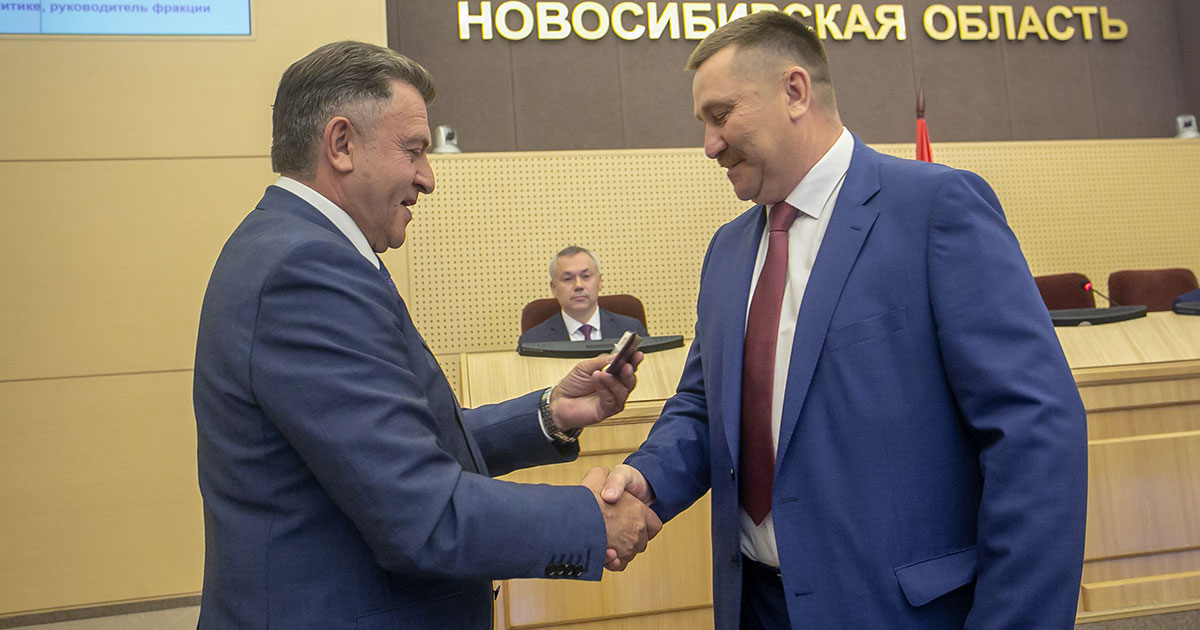 Депутат Законодательного собрания избран главой Баганского района