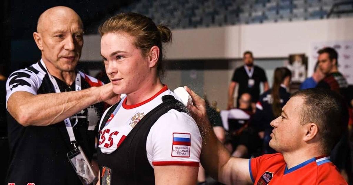 Воспитанница Сергея Федосиенко установила новый рекорд