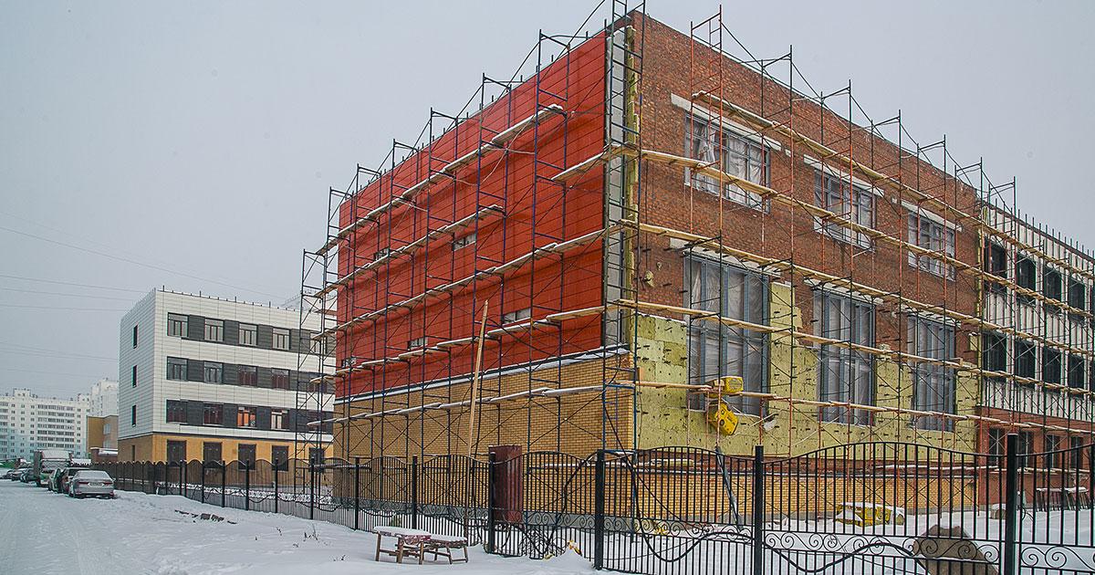 Масштабное строительство новых школ продолжат в Новосибирской области в 2020 году