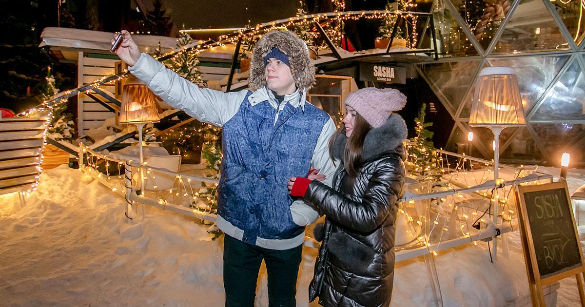 ТОП-10 новогодних точек Новосибирска