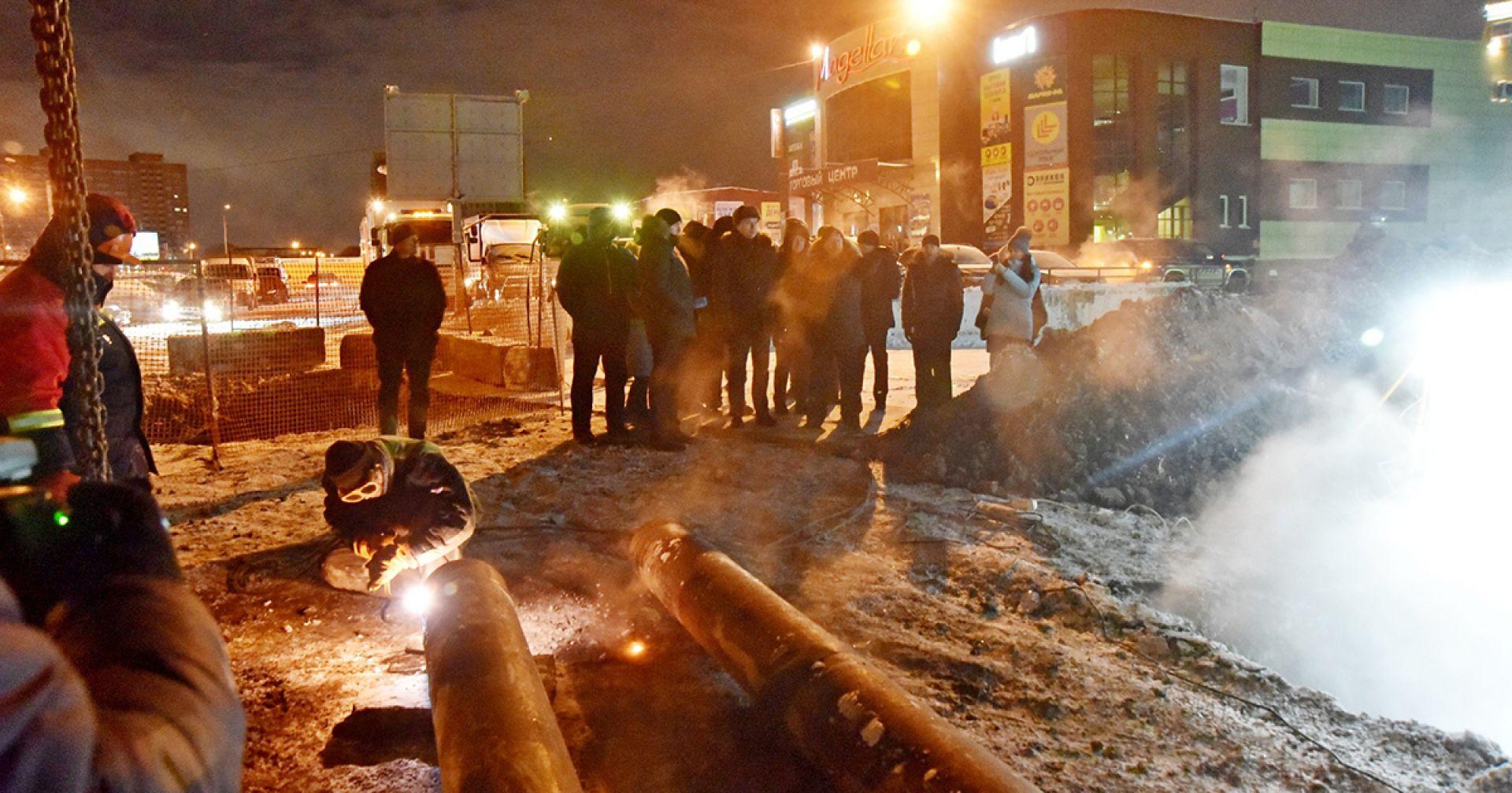 Мэрия Новосибирска и СГК позаботятся, чтобы авария на Комсомольской не повторилась
