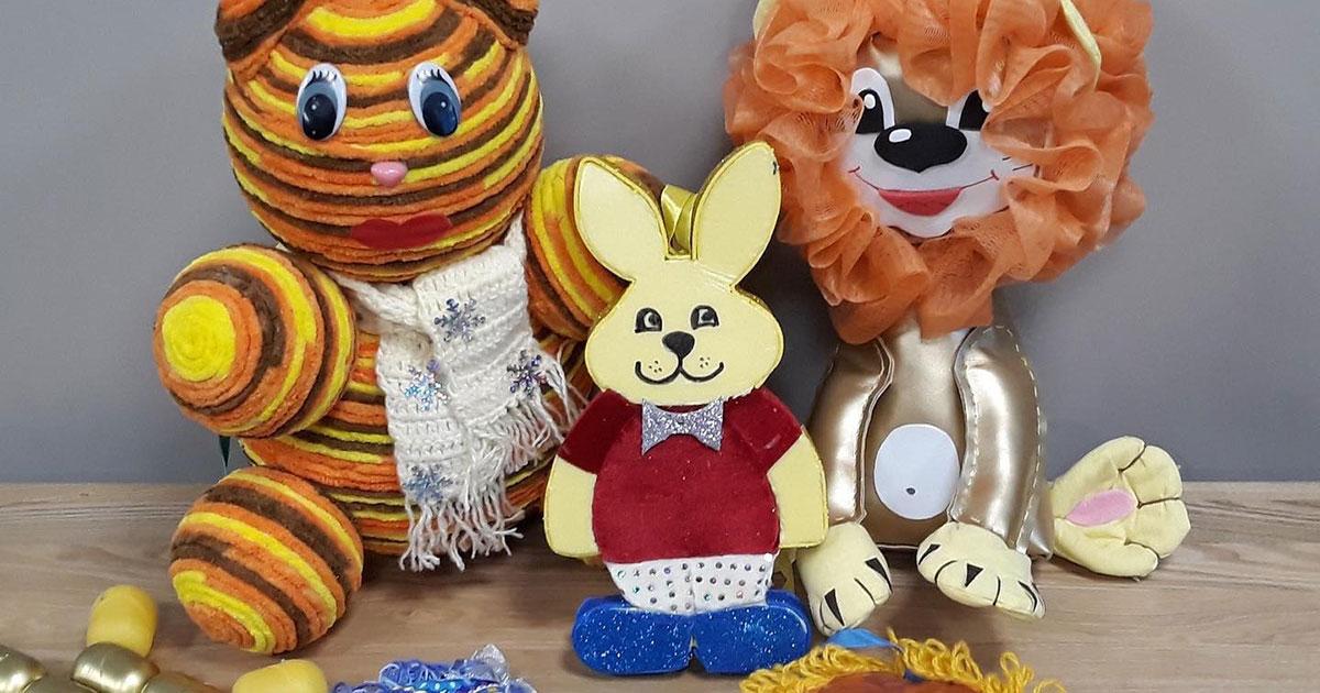 В Новосибирском зоопарке заканчивается конкурс ёлочных игрушек