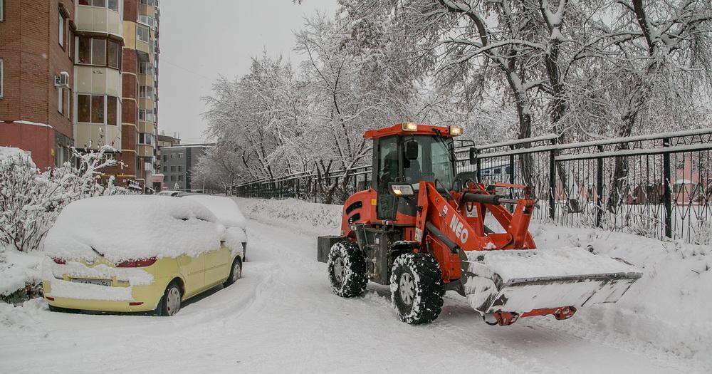 Госжилинспекции Новосибирской области поручено усилить контроль за уборкой снега во дворах