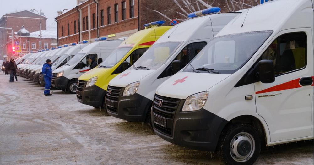 Больницы Новосибирской области получили новые машины скорой помощи