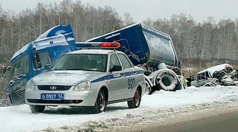 В Чулымском районе Новосибирской области произошло ДТП со смертельным исходом