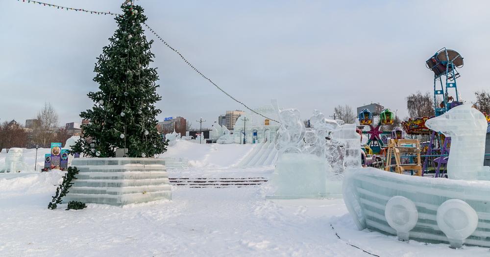 У парка «Михайловская набережная» в Новосибирске появился свой сайт