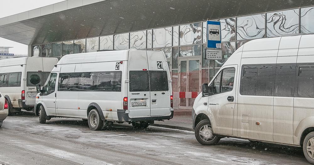 Меняется схема движения маршрутного такси №87 в Новосибирске