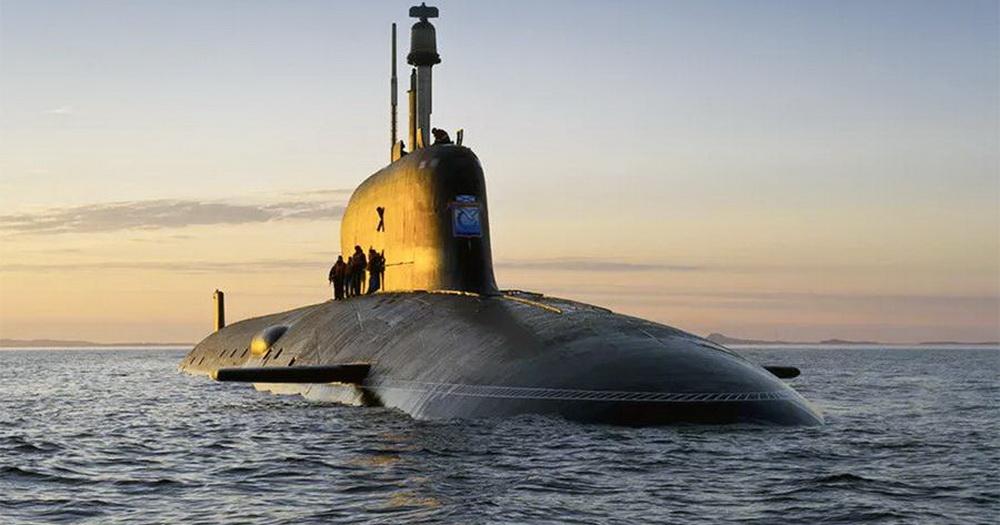 Подлодку «Новосибирск» спустили на воду в Северодвинске