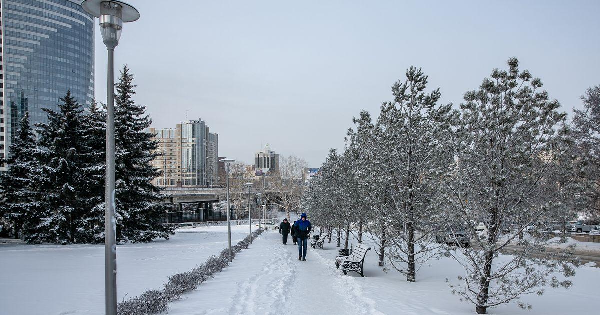 В последние сутки 2019 года Новосибирск продолжит заваливать снегом