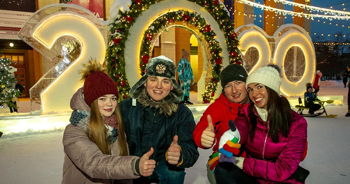 Около 500 000 новосибирцев посетили культурные мероприятия на новогодних праздниках