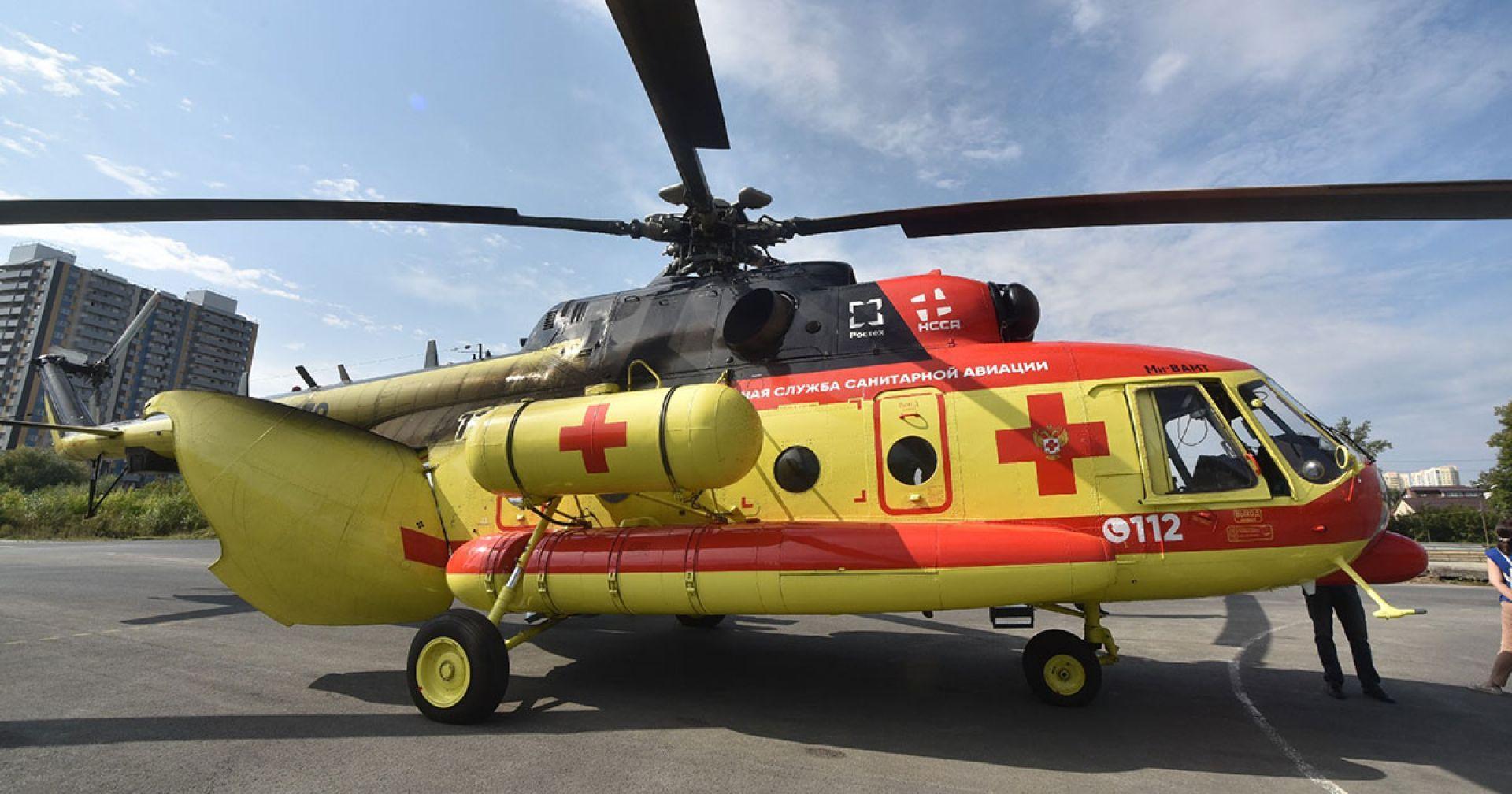 14 человек были эвакуированы санавиацией с начала года в Новосибирской области