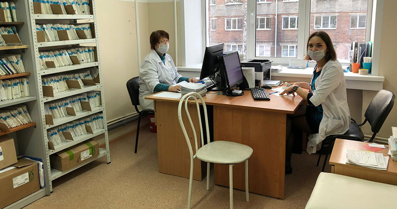 Новосибирский Центр СПИД переехал