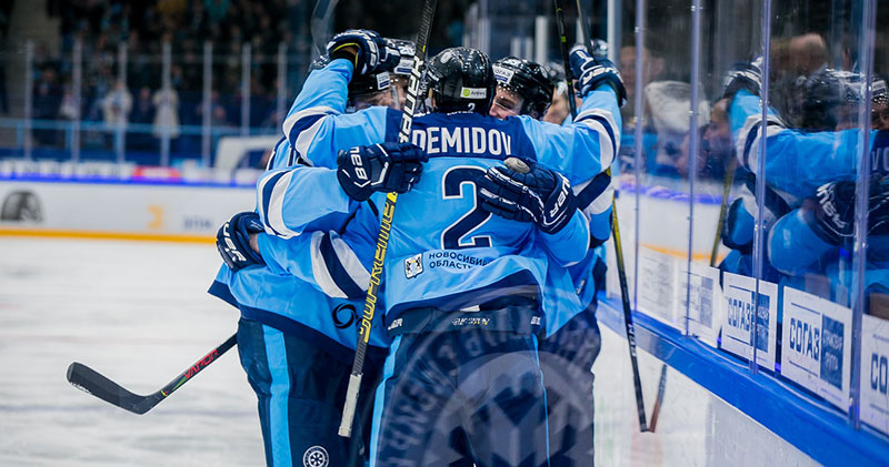 Хоккейная «Сибирь» одержала победу в Китае