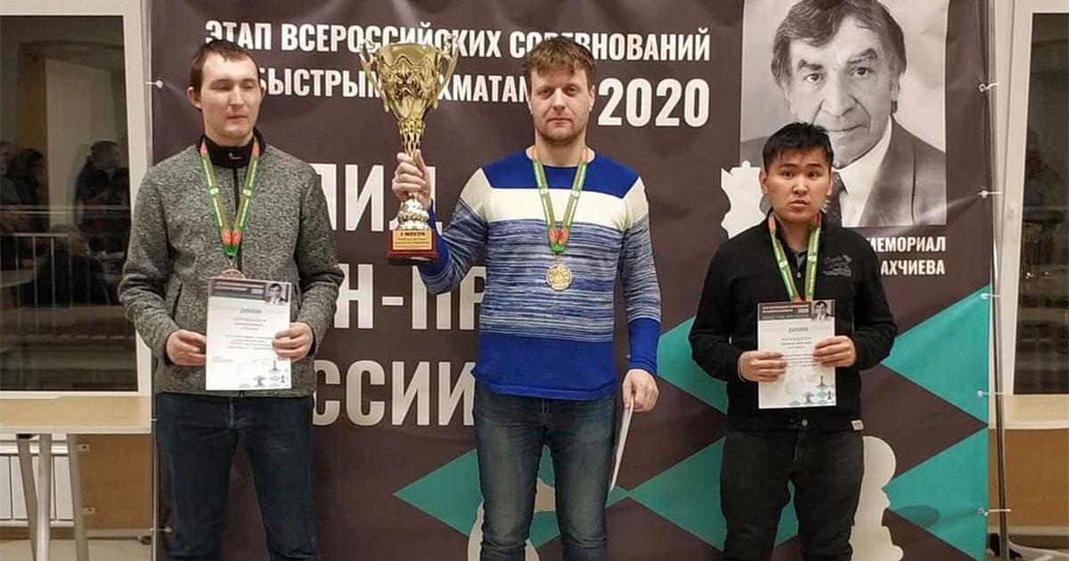 Дмитрий Бочаров одержал победу на этапе Кубка России по быстрым шахматам
