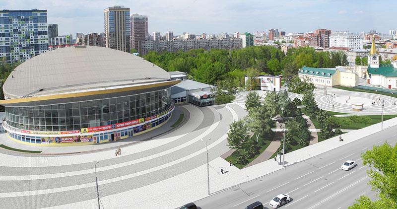 Выбрать между сквером и парковкой предлагают новосибирцам