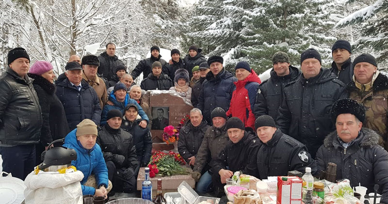 В Новосибирске почтили память Героя России