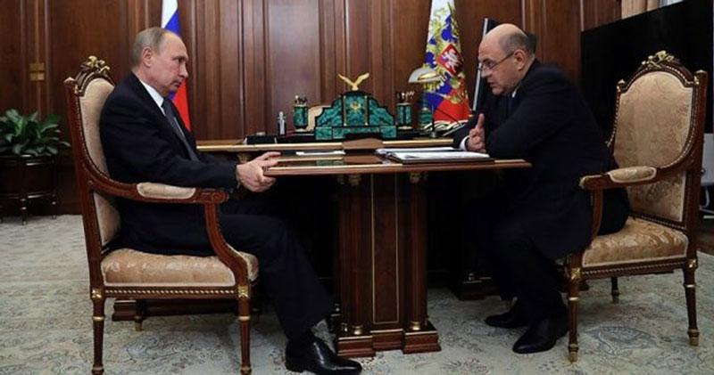 Владимир Путин предложил назначить главу ФНС премьер-министром России