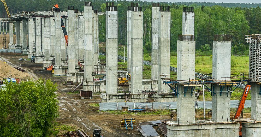 Восточный обход Новосибирска сдадут ещё на полгода позже срока