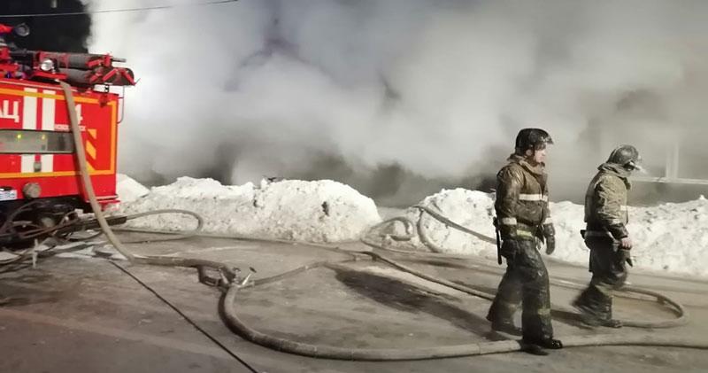 Скандально известное похоронное бюро сгорело в Новосибирске