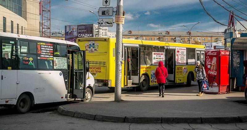 В Новосибирске изменилась схема движения маршрутки № 54