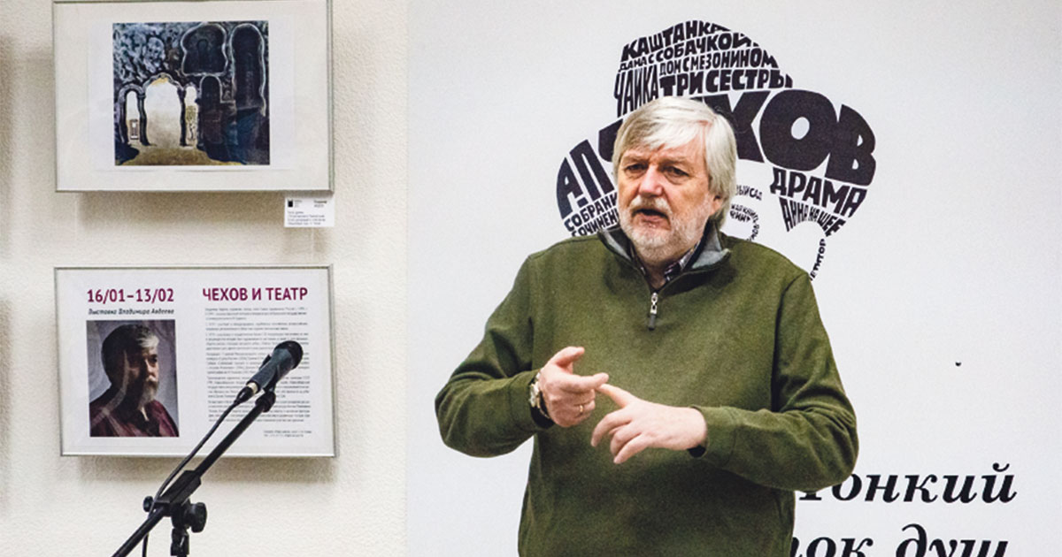 Выставка театрального художника Владимира Авдеева открылась в Новосибирске