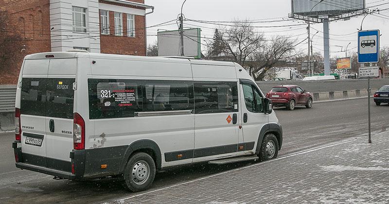 Меняется конечная остановка маршрутки № 51 в Новосибирске