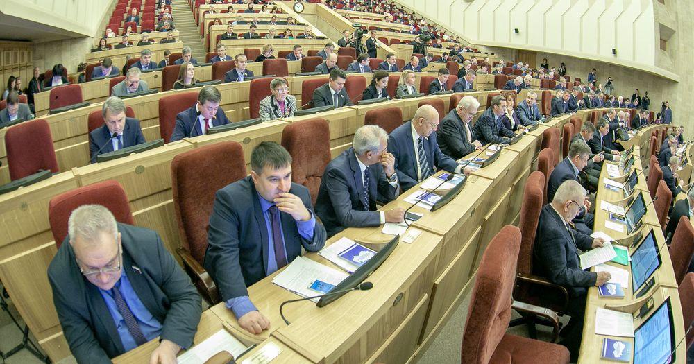 «2020 год будет насыщенным»: губернатор Новосибирской области отчитался перед заксобранием о работе в 2019 году