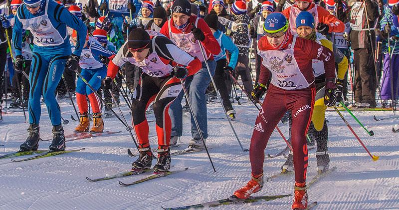 Электронные чипы помогут определить победителей «Лыжни России» в НСО