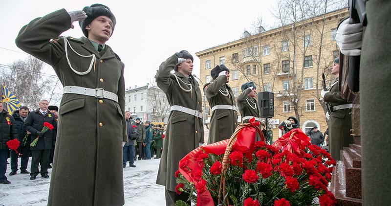 Годовщину освобождения Ленинграда от блокады отметили в Новосибирске