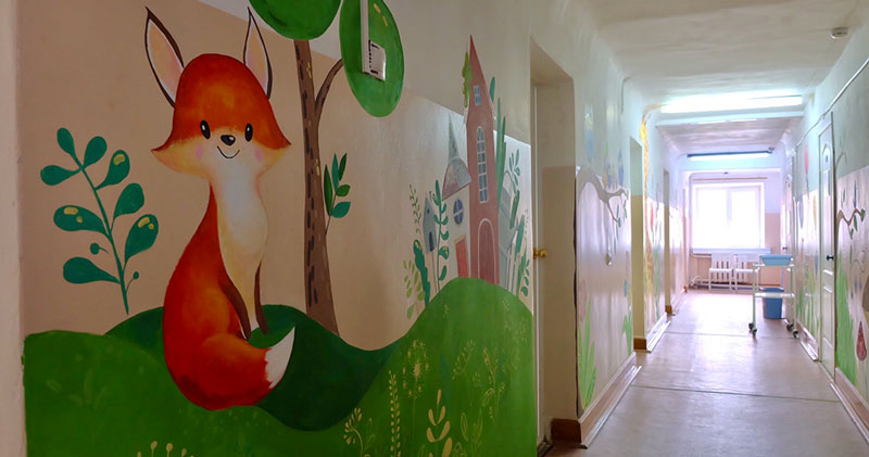 Новое детское отделение центра СПИД открылось в Новосибирске