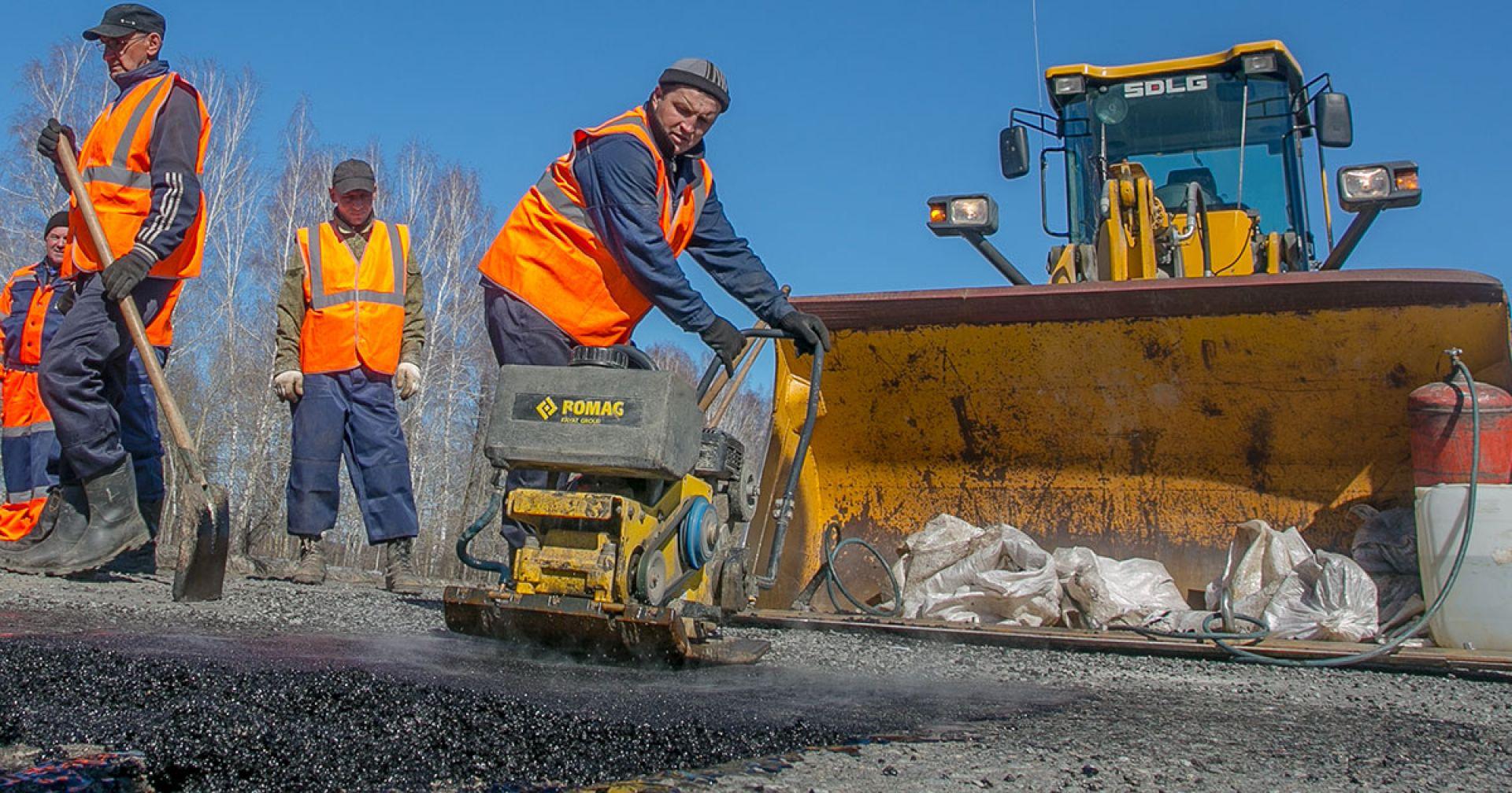 Более 100 км дорог отремонтируют в Новосибирской области в 2020 году