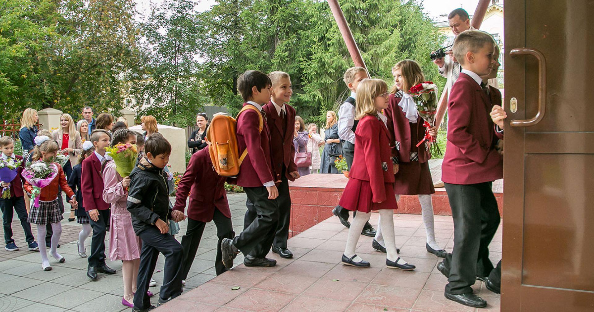 Система записи детей в первый класс готова к началу приёма заявлений в Новосибирской области