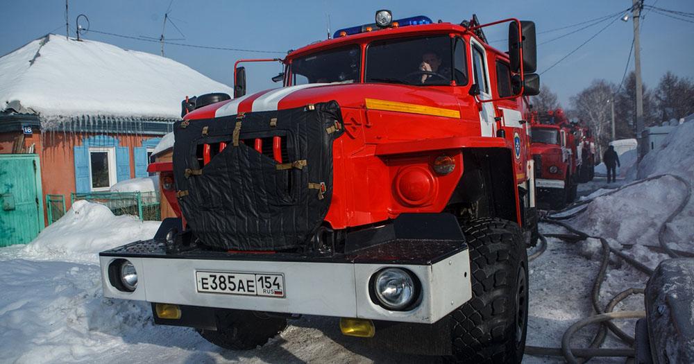 Подгоревшая пища едва не стала причиной пожара в частном доме в Новосибирской области
