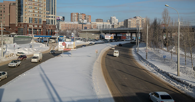 Какие улицы чистят от снега сегодня в Новосибирске