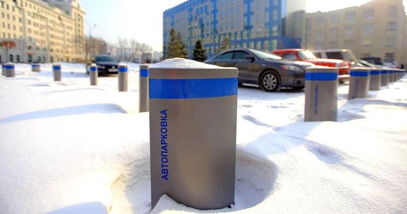 Сеть платных парковок появится весной на Красном проспекте